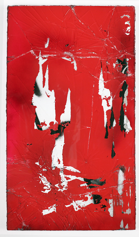Auction Works to Date 2017 DESHAWN DUMAS: Perpetual Peace #Red (from Black Mirror series)