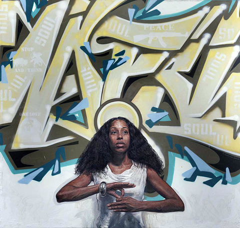 Auction Works to Date 2017 TIM OKAMURA: Nafsi [Collaboration with Kid Belo]