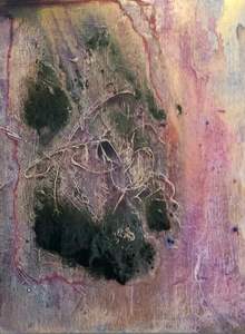 alla boldina paintings acylics, mixed media on canvas