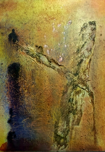 alla boldina paintings acrylics, mixed media on canvas