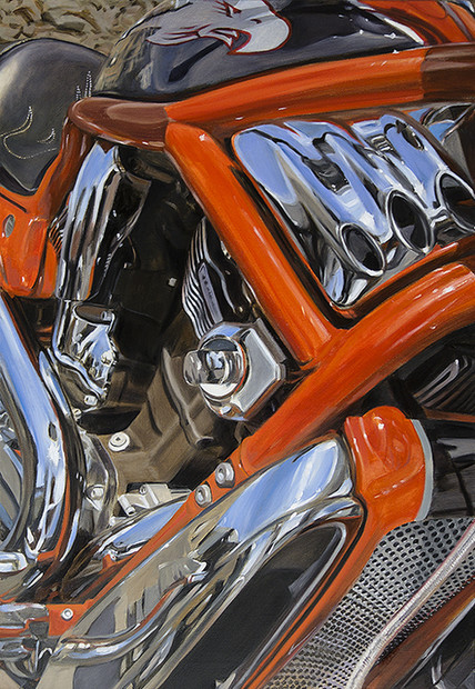 allan gorman Ready to Rumble Oil on Linen