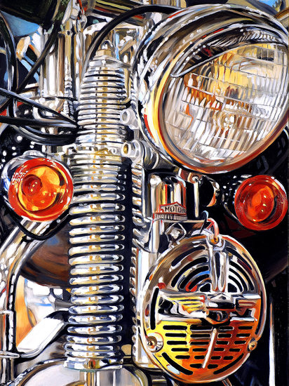 allan gorman Ready to Rumble Oil on Panel