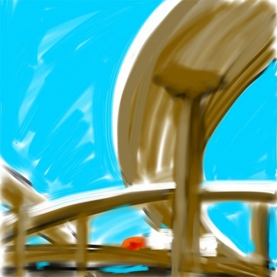allan gorman Works on Paper Finger on iPad