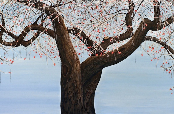 Allison Green Arboreal Portraits oil on canvas