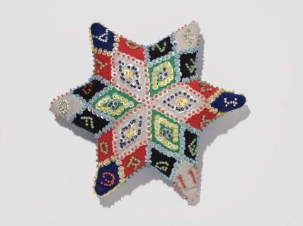 Allison SMITH Notion Nanny Felt, pins, sequins, beads