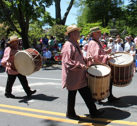 Allison SMITH Rudiments of Fife & Drum Memorial Day Parade, Ridgefield, CT