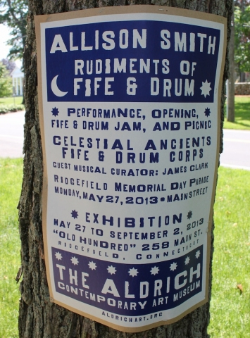 Allison SMITH Rudiments of Fife & Drum Silkscreen on chipboard, limited edition