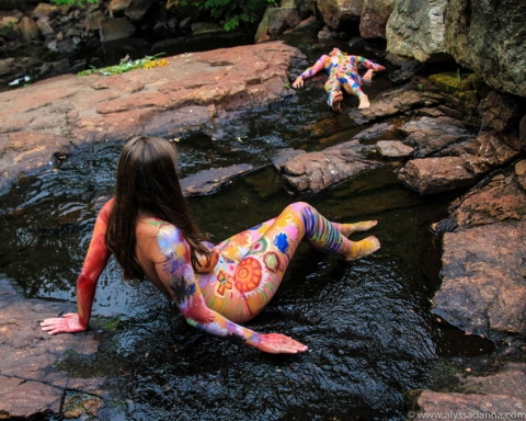 Alyssa D'Anna Body Paintings