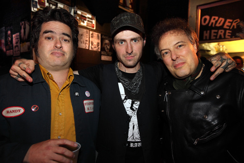 Fat Mike, Stza Crack, Jello Biafra