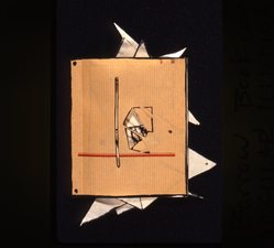 AMANDA  BARROW Artists' Books & Cut-outs black sumi ink on handmade paper, handcut
