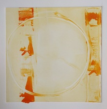 AMANDA  BARROW NEW WORK! monotype on paper