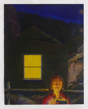 Amanda Lechner Paintings 2013-14 egg tempera on panel