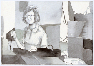 Amanda Lechner Current Drawings Watercolor on Paper