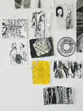 Amanda Lechner Drawings 2012-15 ink on paper