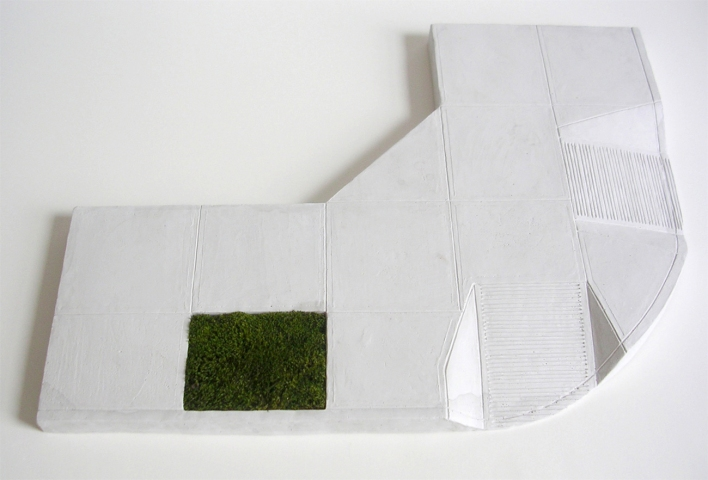 AMY ALBRACHT Landscapes hydrocal, moss