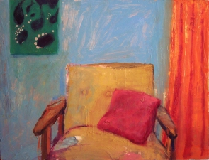 ABMacD Chairs Oils and oil pastel
