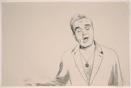 "ABMacD Morrissey charcoal on paper26.5"" x 40"""