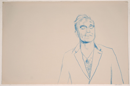 ABMacD Morrissey crayon on paper