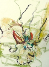 Amy Bouse king county series watercolor on paper