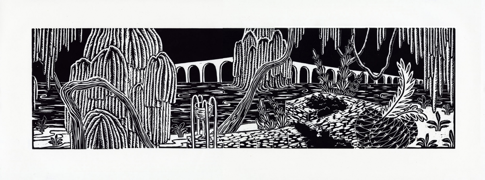 2008 Relief Prints Pump House