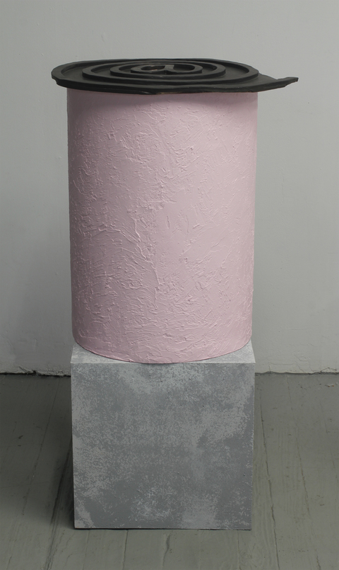Amy Gartrell More Recently glazed ceramic, wood, stucco, acrylic paint