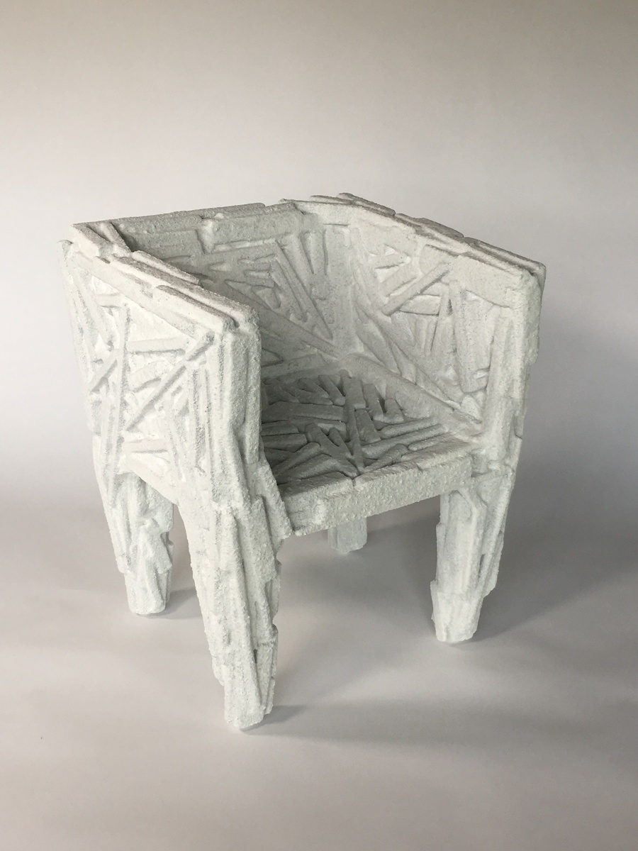 Tender Glass Salt Chair