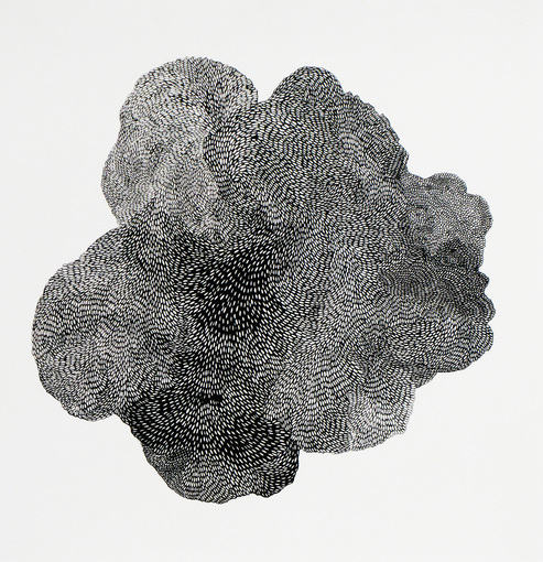 AMY KAO WORKS ON PAPER Ink on paper