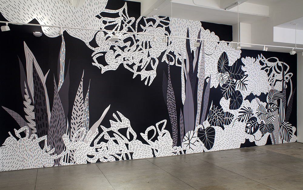 AMY KAO INSTALLATIONS Vinyl on wall