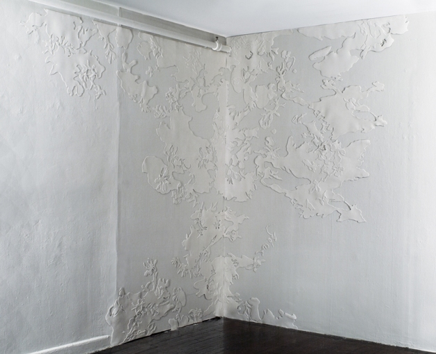 AMY KAO INSTALLATIONS Rubber on wall