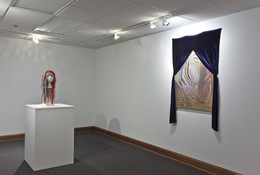 Audrey Wig and View from a Room (installation view)