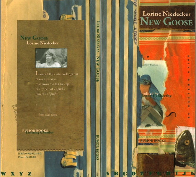 COVER DESIGN:BOOKS New Goose : Lorine Niedecker