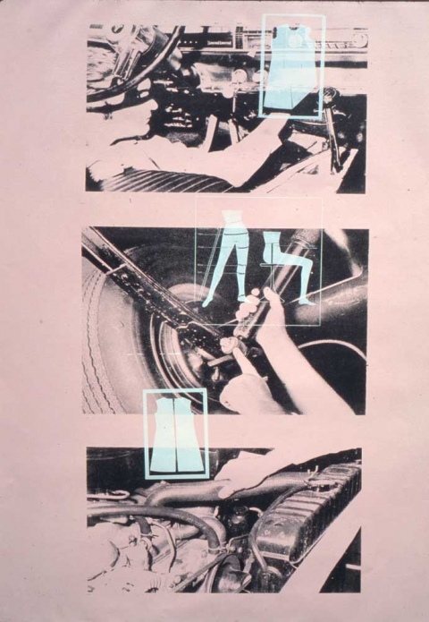 Amy Westpfahl  How to, 1999 Monoprint, Lithography & Silkscreen