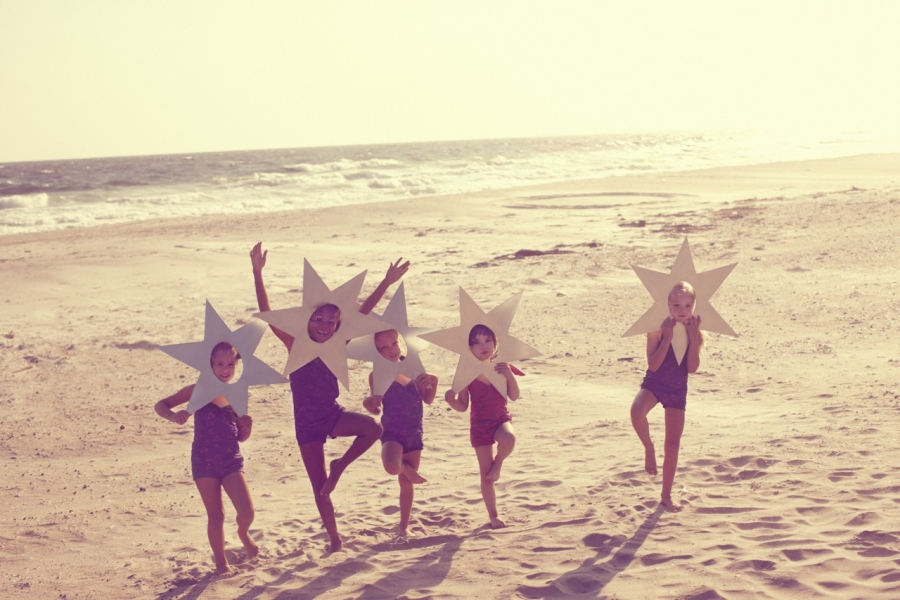 Kids Wonderland,stars on the beach