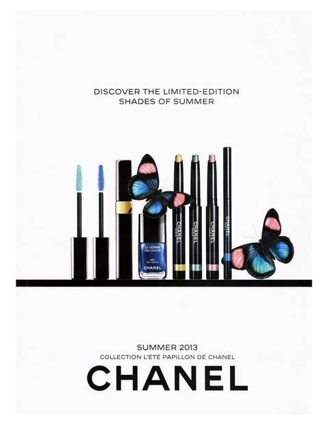 Advertising Chanel Pappillon