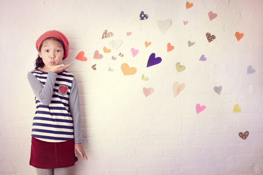 Kids Mini Boden Hearts