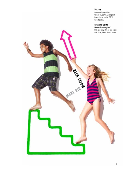 "Bloomingdale's Kids ""Upstairs"" /Anna Palma"