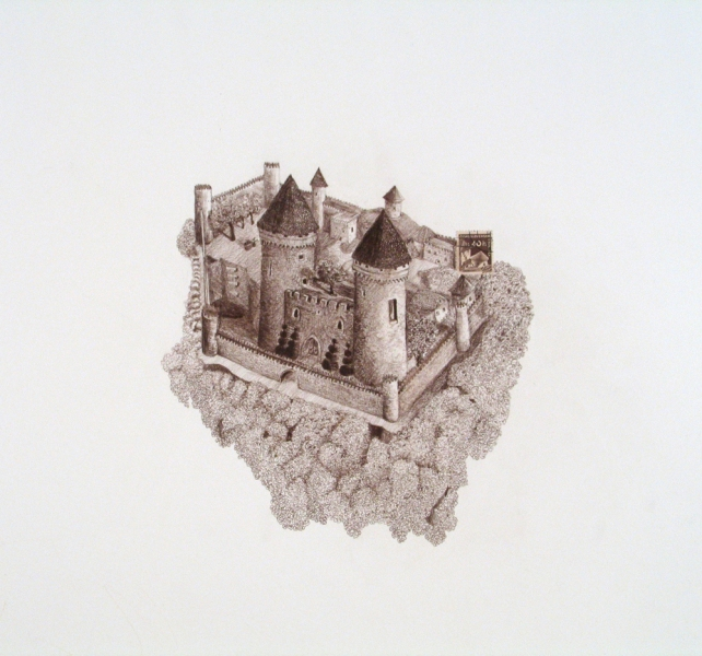 Works on paper Czechoslovakia (Castle)