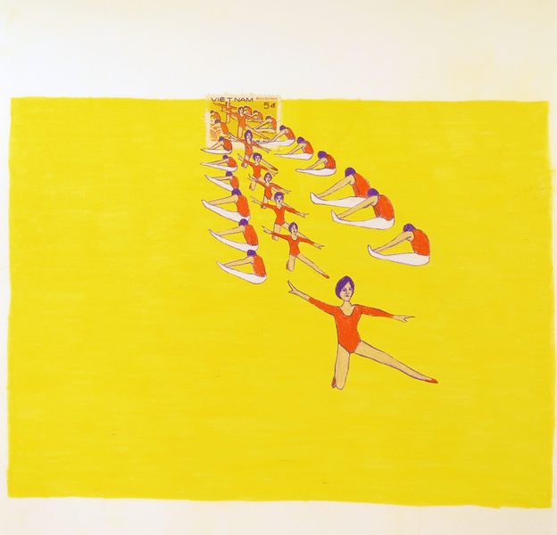 Works on paper Vietnam (The Gymnasts)