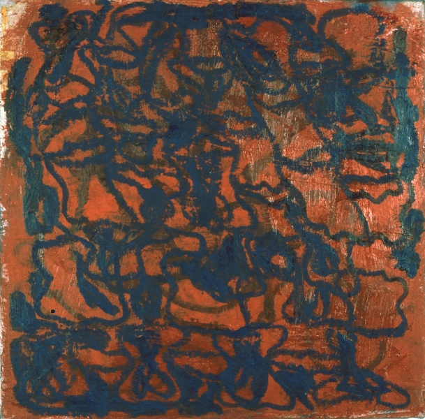 Paintings 1993-2000 Blue & Red