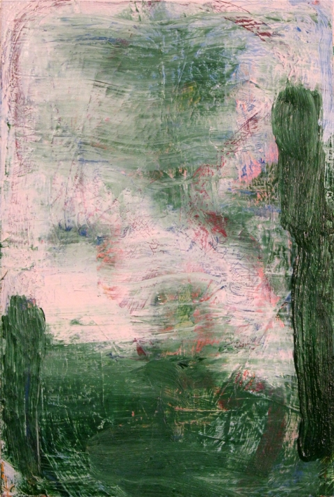 Paintings 2011-2016 Untitled (Green 1)