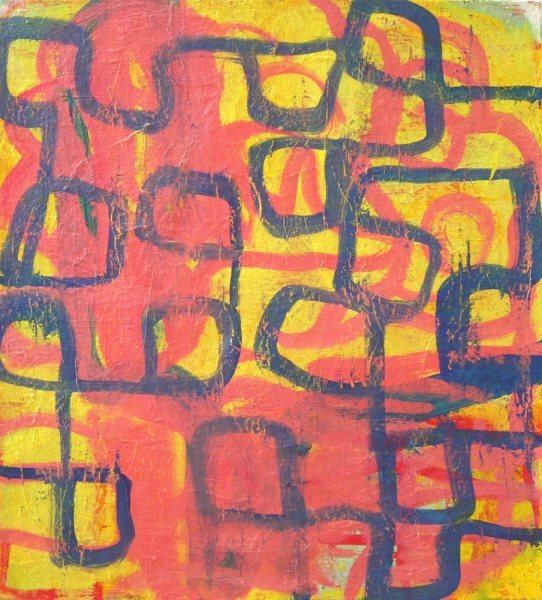 Paintings 2006-2010 Yellow, Pink, & Blue