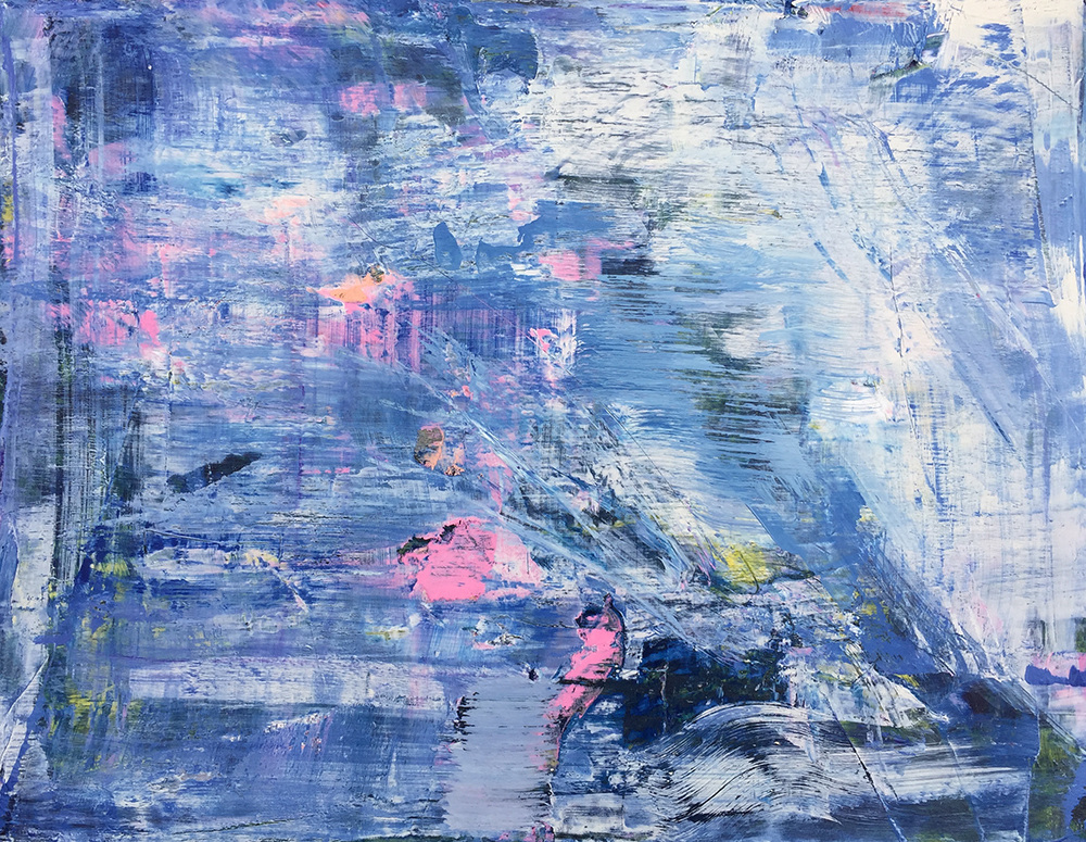 Paintings 2011-2016 Blue Haze