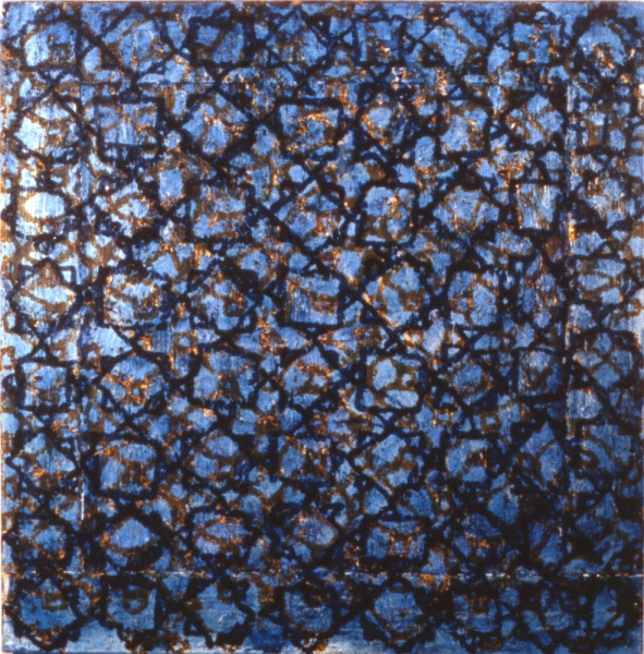 Paintings 1993-2000 Blue Mosaic
