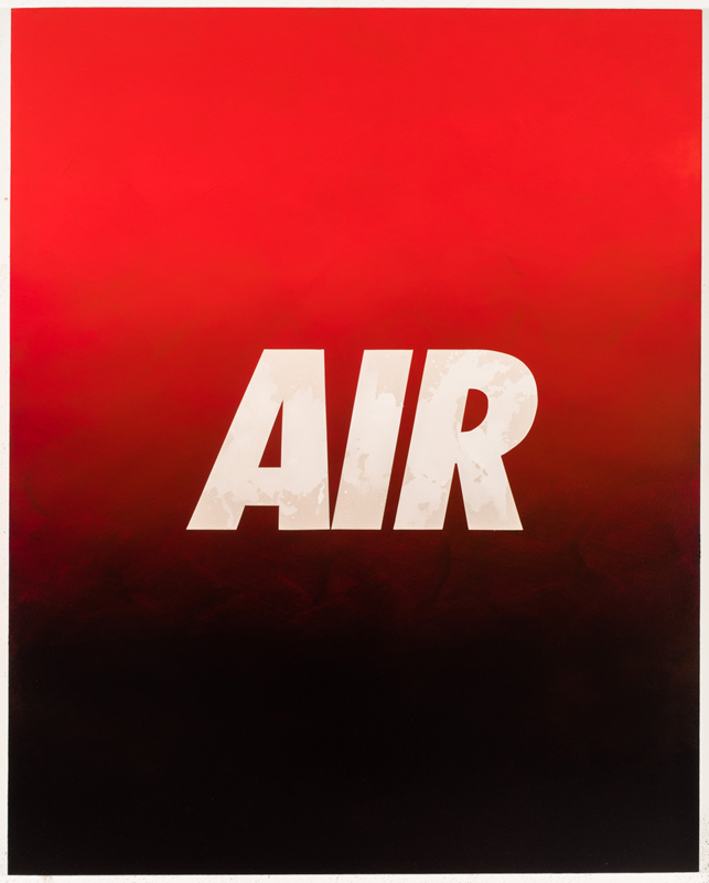 PAINTINGS AIR (Red/Black)