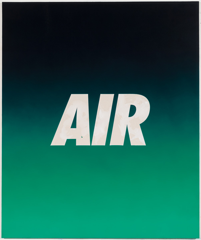 PAINTINGS AIR (Black/Green)