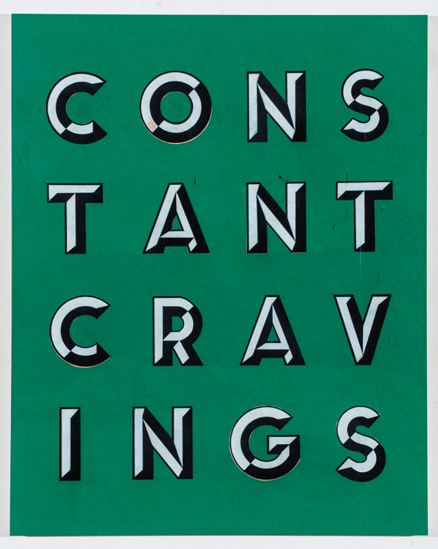 PAINTINGS Constant Cravings