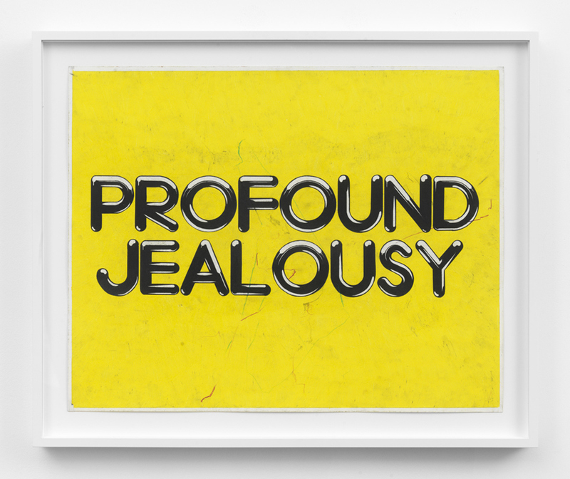 DRAWINGS Profound Jealousy