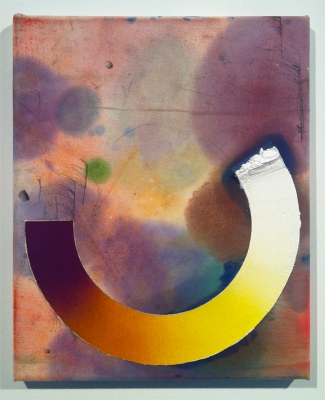 ANDREW BRISCHLER PAINTINGS Oil, spray paint, and pencil on canvas
