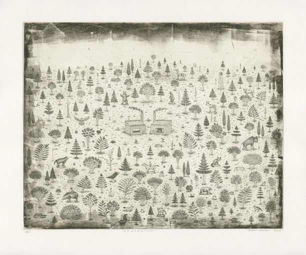 Andrew Kosten/Gum Pal Press Recent Work Intaglio