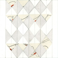 a     n     d     r     e     w            z     a     r     o     u 2012 graphite, paper + vellum collage on paper